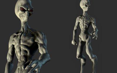 Creando un alien en ZBrush
