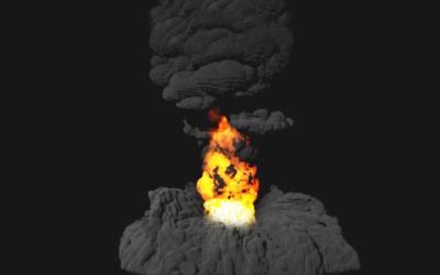 Creando explosiones en Maya Vol. 2