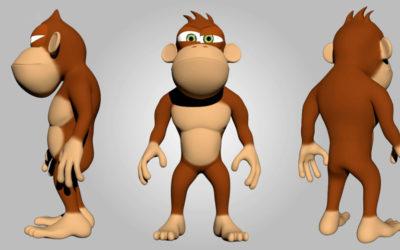 Modelado, Texturizado y Rigging de un personaje cartoon en Maya 2018
