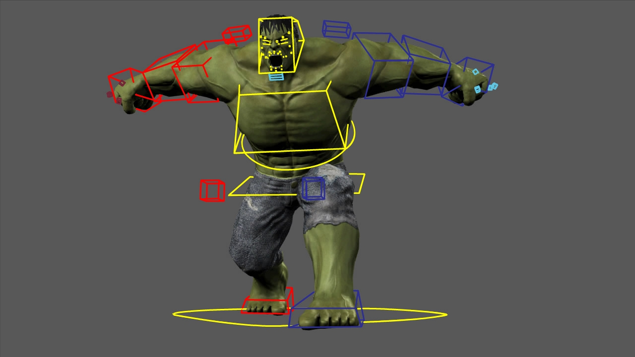 Creando a Hulk Vol. 3 Rigging – (Also English version available)