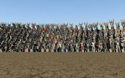 Creando multitudes en Maya con Golaem