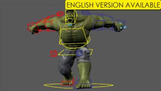 Creando a Hulk Vol. 3 Rigging – (English version available)