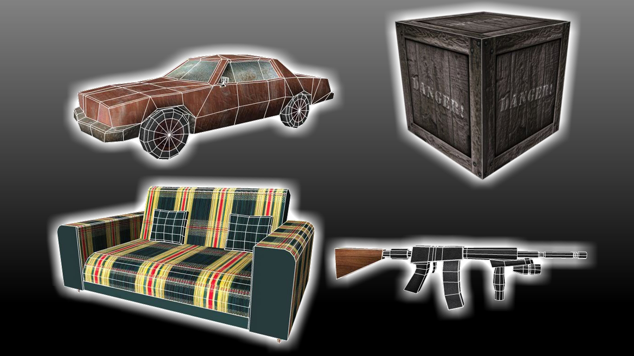 Creando assets para videojuegos en Maya