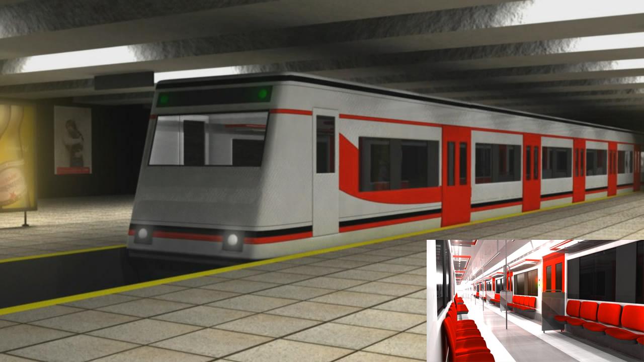 Creando la estación de tren