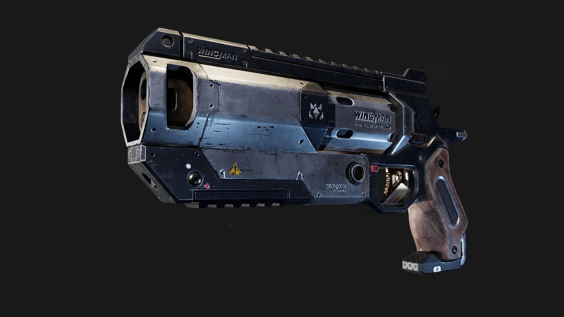 Creación de armas para videojuegos con Maya y Substance Painter