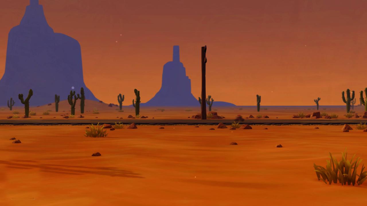 Creación de un desierto estilo cartoon en Maya