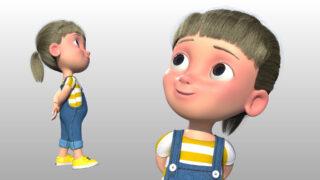 Creando personajes infantiles cartoon para animación en Maya
