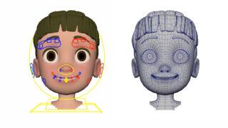 Rigging facial para producción en Maya